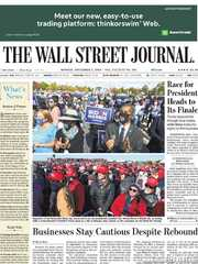 《The Wall Street Journal(WSJ)》2020年11月02日(华尔街日报)【PDF】