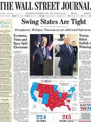 《The Wall Street Journal(WSJ)》2020年11月04日(华尔街日报)【PDF】