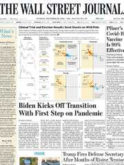 《The Wall Street Journal(WSJ)》2020年11月10日(华尔街日报)【PDF】