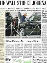 《The Wall Street Journal(WSJ)》2020年11月23日(华尔街日报)【PDF】
