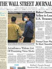 《The Wall Street Journal(WSJ)》2020年11月24日(华尔街日报)【PDF】