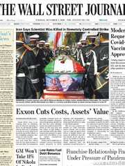 《The Wall Street Journal(WSJ)》2020年12月01日(华尔街日报)【PDF】