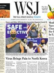 《The Wall Street Journal(WSJ)》2020年12月19&20日(华尔街日报)【PDF】