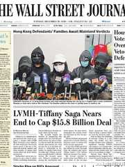《The Wall Street Journal(WSJ)》2020年12月29日(华尔街日报)【PDF】