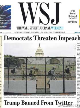 《The Wall Street Journal(WSJ)》2021年01月09&10日(华尔街日报)【PDF】
