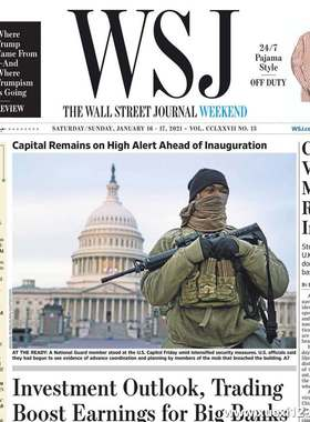《The Wall Street Journal(WSJ)》2021年01月16&17日(华尔街日报)【PDF】