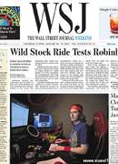 《The Wall Street Journal(WSJ)》2021年01月30&31日(华尔街日报)【PDF】
