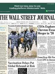 《The Wall Street Journal(WSJ)》2021年02月01日(华尔街日报)【PDF】