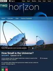 BBC纪录片《宇宙何其小 How Small Is the Universe?》英语中字 720P