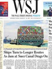 《The Wall Street Journal(WSJ)》2021年03月27&28日(华尔街日报)【PDF】