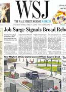 《The Wall Street Journal(WSJ)》2021年04月03&04日(华尔街日报)【PDF】