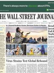 《The Wall Street Journal(WSJ)》2021年04月05日(华尔街日报)【PDF】