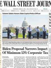 《The Wall Street Journal(WSJ)》2021年04月08日(华尔街日报)【PDF】