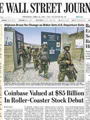 《The Wall Street Journal(WSJ)》2021年04月15日(华尔街日报)【PDF】